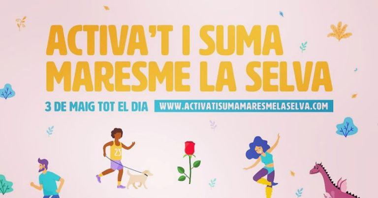 Gesport organitza, aquest diumenge, la jornada solidària 'Activa't i Suma Maresme La Selva'