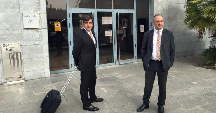 Gustavo Buesa, l'interventor i el secretari municipal declaren avui