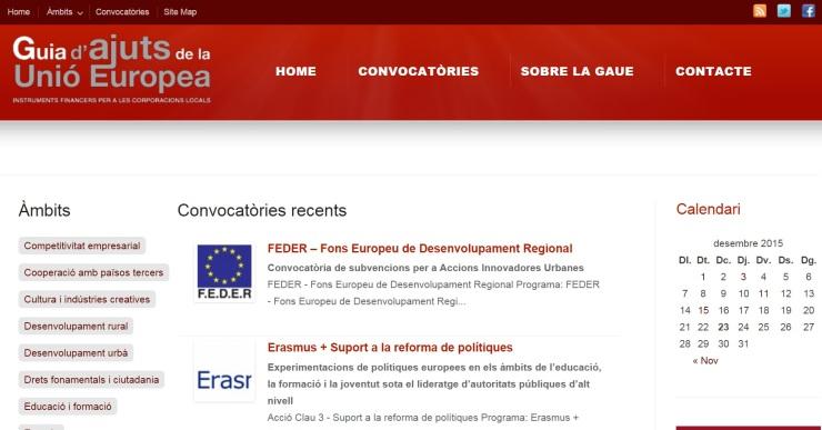 L'Ajuntament de Lloret apostarà per les subvencions europees