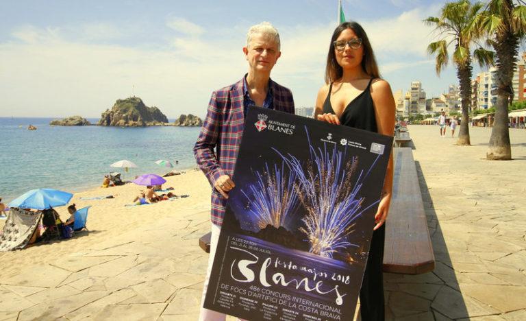 L'escriptora Alba Saskia oferirà un pregó 'personal' i 'sensorial' a la Festa Major de Blanes