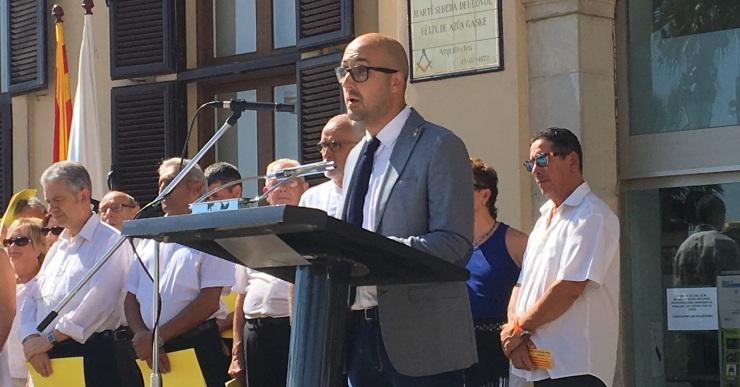 Normalitat absoluta en la celebració de la Diada Nacional de Catalunya a Lloret de Mar