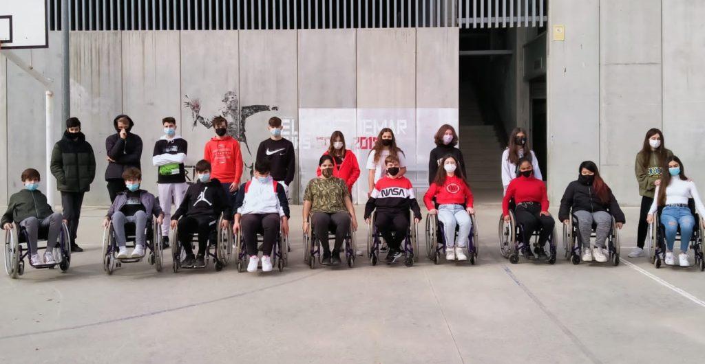 alumnes IE cadira rodes 1