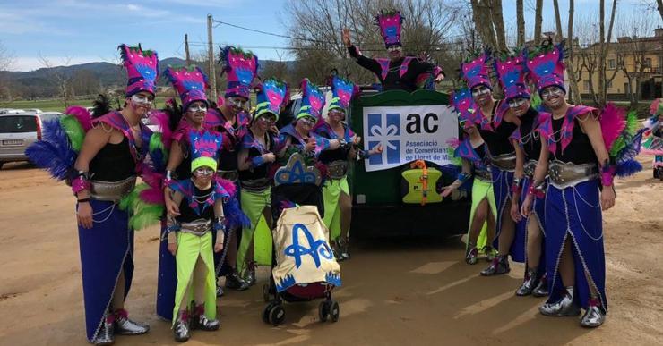 Forçame guanya el primer premi al Carnaval de Sils
