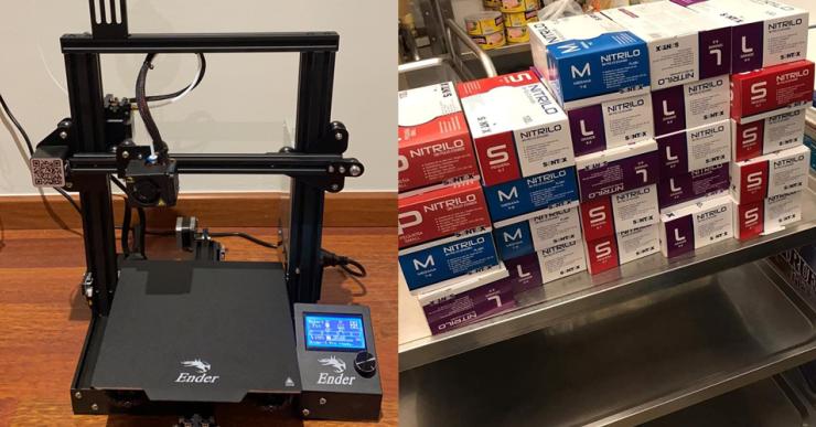 L'AMPA del Pere Torrent compra una impressora 3D i la cedeix a Makers Lloret per fer material sanitari