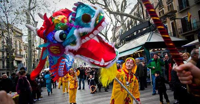 L'Any Nou Xinès s'espera amb molta expectació arreu de Catalunya