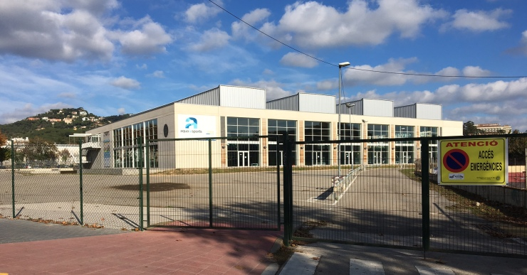 La piscina municipal tindrà el nou aparcament al mes de gener