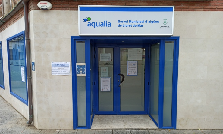 L'oficina d'atenció al públic d'Aquàlia ja torna a rebre visites presencial per fer certs tràmits