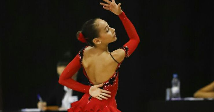 Ariadna Garrasino, del CPA Lloret, és la subcampiona d'Espanya en categoria cadet