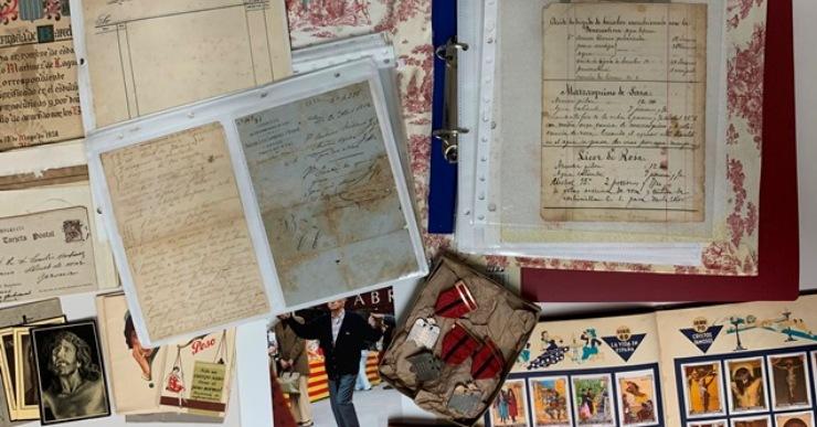 Nous ingressos a l'Arxiu Municipal de Lloret que amplien diversos fons familiars