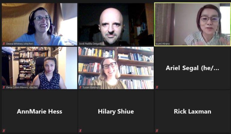 Lloret participa per primer cop en un congrès virtual de la Societat d'Arxivers Americans