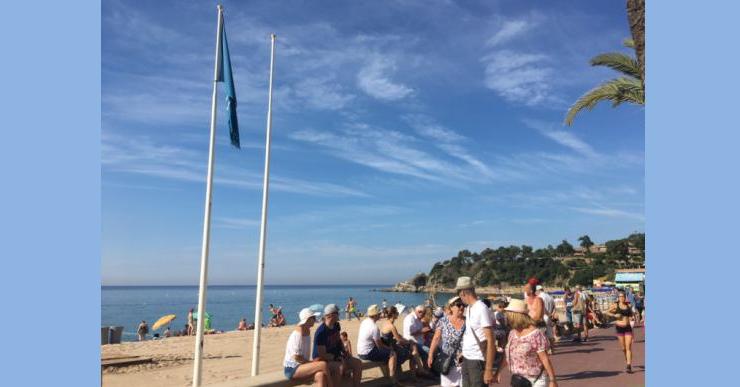 Lloret de Mar renova la Bandera Blava a totes les cinc platges de la destinació