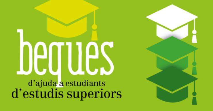 L'Ajuntament destina 50.000 euros en beques per als alumnes d'estudis superiors