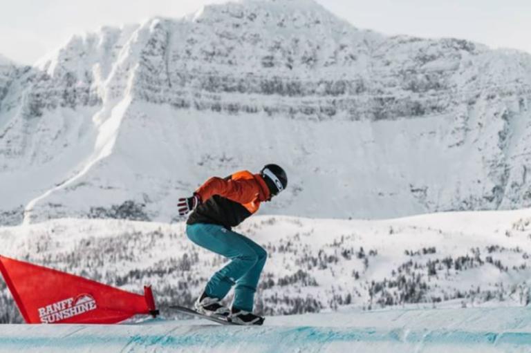 Bernat Ribera participa per primer cop en un Campionat del Món d'snowboard cross