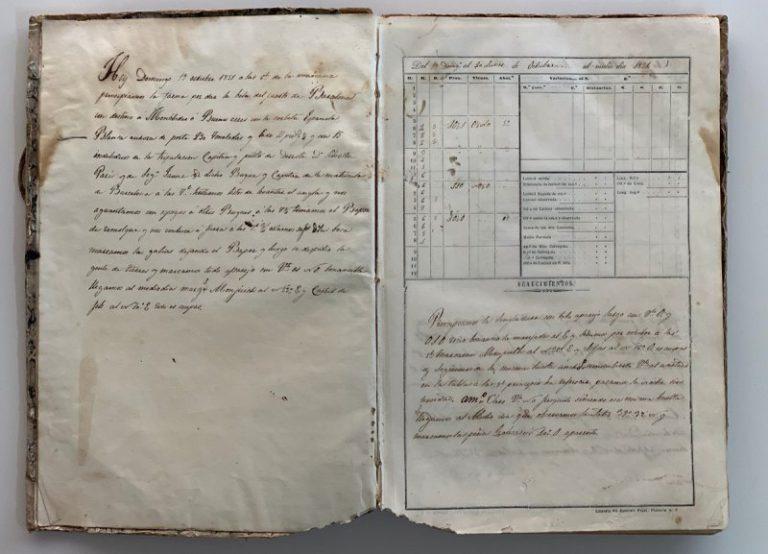 El Club Nàutic de Lloret cedeix el quadern de bitàcola del vaixell Blanca Aurora a l'Arxiu Municipal