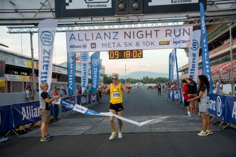 José Luís Blanco queda quart en la Night Run solidària del circuit de Montmeló