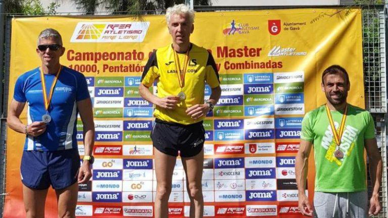 Blanco guanya el campionat d'Espanya Màster, per a corredors entre 40 i 44 anys