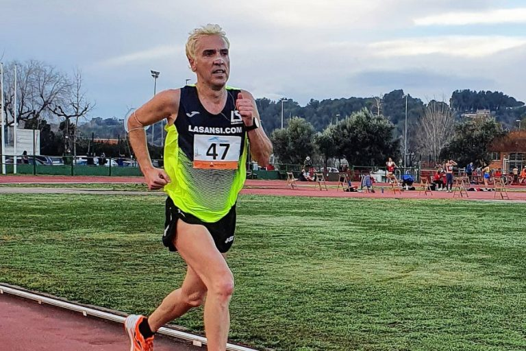 Jose Luis Blanco estableix el rècord català de la prova dels 3.000 metres llisos