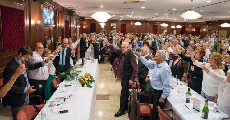 Prop de 1.000 persones, avui, en el dinar d'homenatge de la Gent Gran de Lloret de Mar