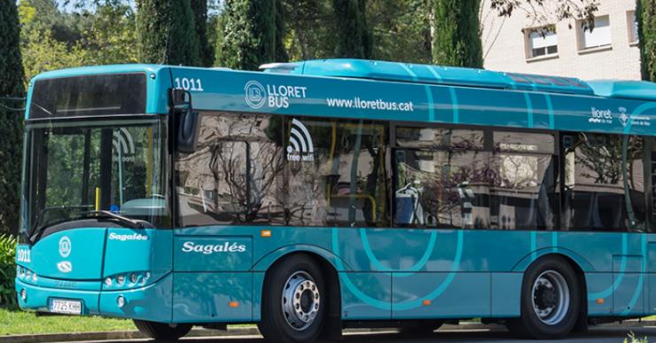 Els usuaris valoren amb un 9'5 sobre 10 el servei de transport urbà a Lloret de Mar