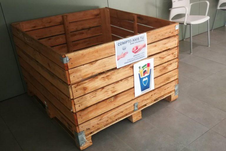 Les escoles de Lloret se sumen a la recollida d'aliments de Cáritas