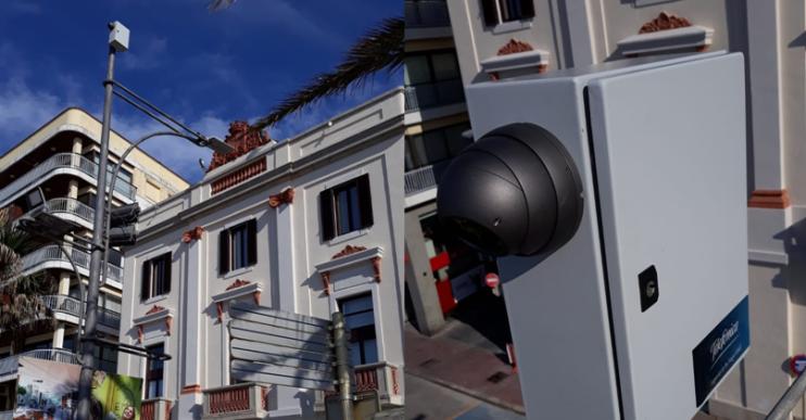 L'Ajuntament presentarà el projecte de les càmeres de control de l'aforament en una webinar
