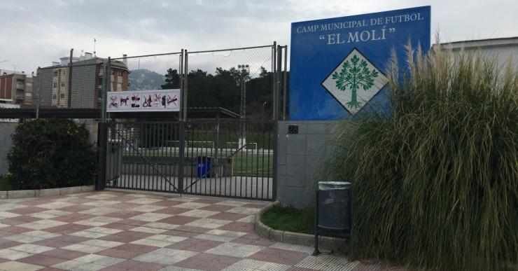 Aquest estiu, es reformaran els vestidors del camp de futbol del Molí