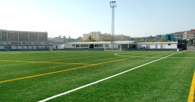 Ocupació plena als camps de futbol de Lloret per als propers mesos de febrer i març