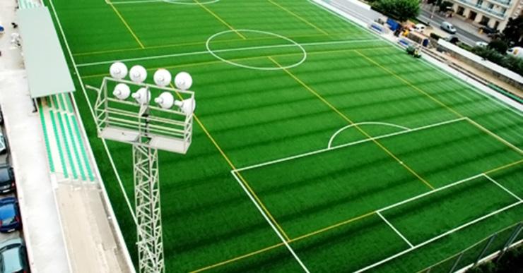 Les obres del canvi de gespa del camp de futbol s'adjudicaran en breu