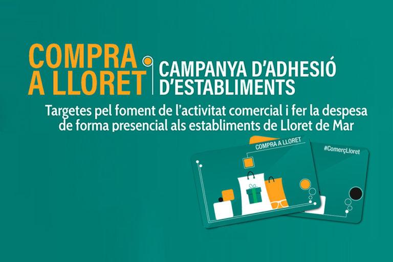 'Compra a Lloret', una campanya per fomentar el consum local en temps de Covid