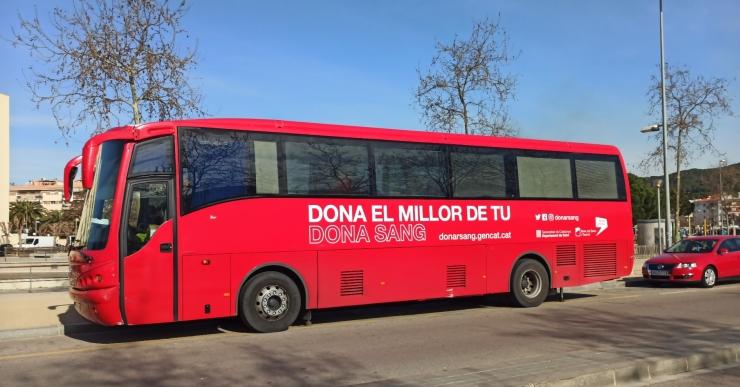 Es manté la donació de sang avui a Lloret, però sense els Bombers per prevenir el coronavirus