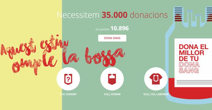 El Banc de Sang va aconseguir 94 donacions a la campanya de divendres passat