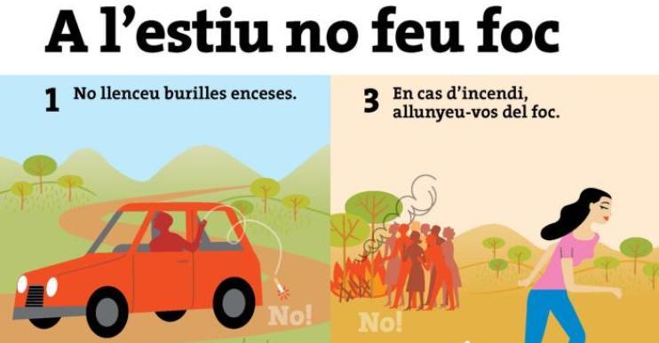 Fins al 15 d'octubre, es restringeix la possibilitat de fer foc per prevenir incendis