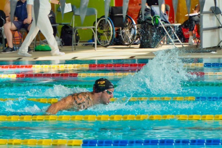 Rècords estatals i europeus i bitllets per als Paralímpics de Tòquio, en el Campionat d'Espanya de Natació adaptada
