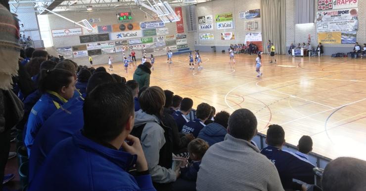 Ple de gom a gom el pavelló del Molí pel Campionat d'Espanya d'handbol