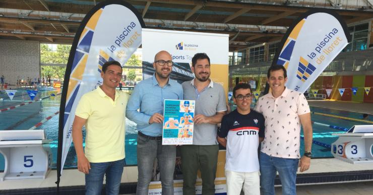 La piscina de Lloret serà la seu del Campionat d'Espanya de Natació Adaptada