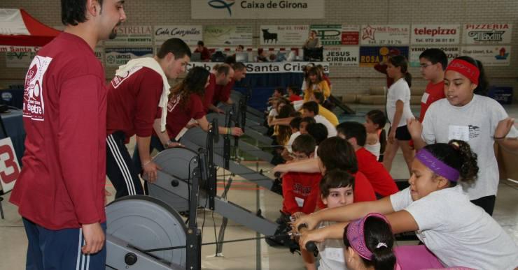 440 alumnes participaran diumenge al campionat de rem ergòmetre