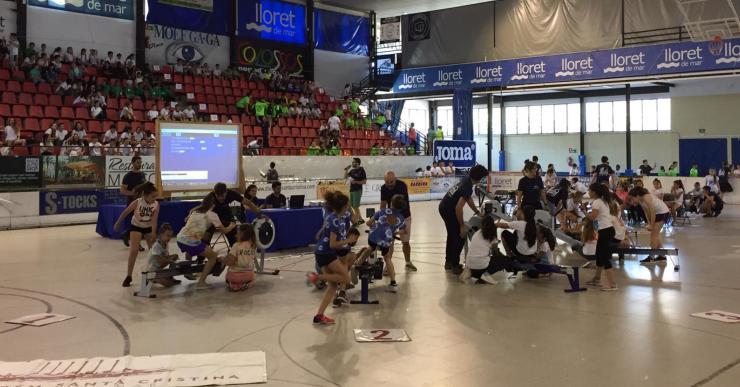 Bones valoracions del campionat de rem ergòmetre, amb 150 equips de totes les escoles
