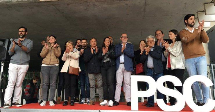 """El PSC ha presentat una candidatura """"preparada per liderar el canvi que Lloret necessita"""""""