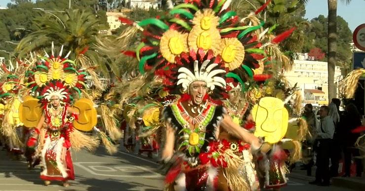 Canya i Conya, de Tossa, s'endú el primer premi de la gran rua de Carnaval