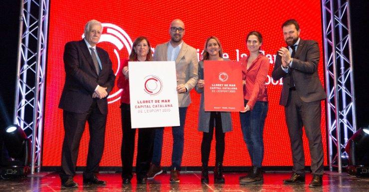 Lloret de Mar pren el relleu a Calella i es converteix en la Capital Catalana de l'Esport 2020