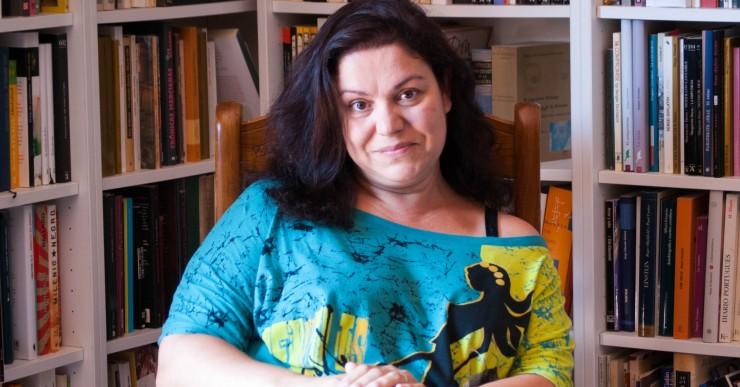 Care Santos visita el Club de Lectura de Lloret per comentar la novel·la 'Mitja vida'