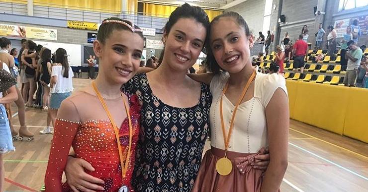 Marina Expósito, Carla Martínez i Clàudia Carrión, classificades per al Campionat de Catalunya