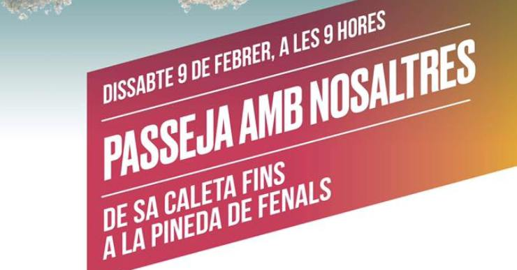 Junts per Lloret organitza una caminada per donar a conèixer la seva proposta de cara a les eleccions