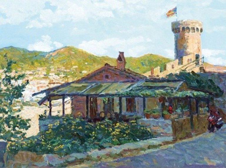 Avui s'inaugura una exposició de pintors russos sobre paisatges de Lloret i la Costa Brava