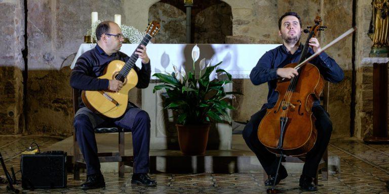 El duet Cello & Guitart actuarà en el segon concert del Festival de Guitarra del Mediterrani