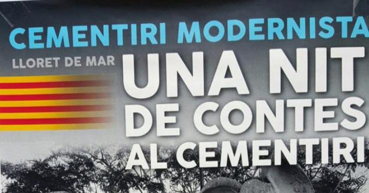 Visita nocturna al cementiri, teatralitzada i musicada, per tancar Sant Jordi