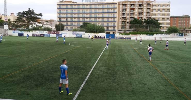 Derrota i empat en els dos primers partits de pretemporada del Club Futbol Lloret