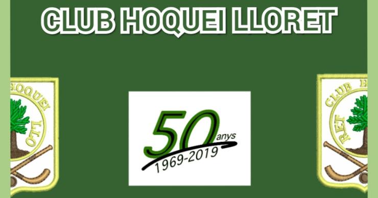 Celebració del 50è aniversari del Club Hoquei Lloret, aquest diumenge