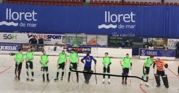 El Club Hoquei Lloret deixa escapar la victòria a l'últim moment i empata 4-4 contra el Lleida