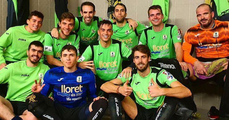 El Club Hoquei Lloret deixa de ser cuer a l'OK Lliga després de guanyar al Voltregà (1-3)